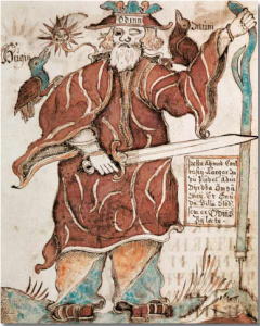 Odin, Hugin und Munin