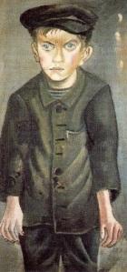 Otto Dix, Arbeiterjunge, 1920